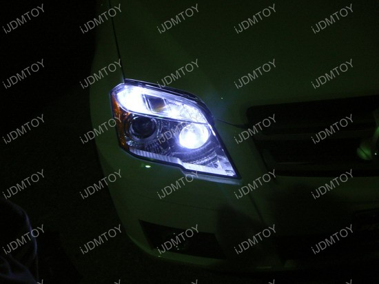 Mercedes - GLK350 - LED - parking - lights 6